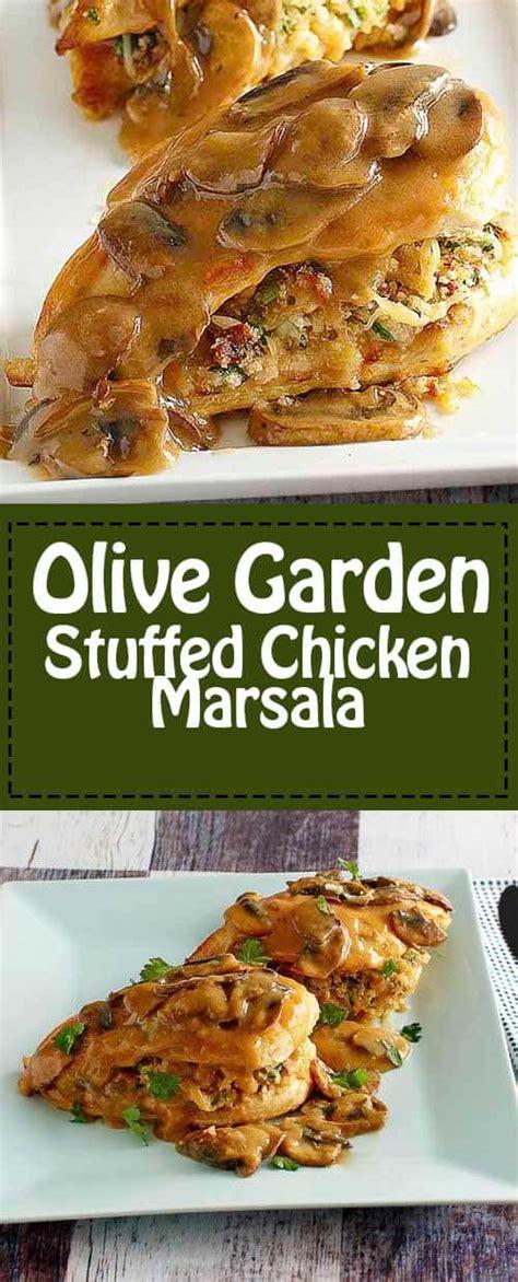 Chicken Marsala Olive Garden Recipe by Olive Garden Stuffed Chicken Marsala Copykat Recipes