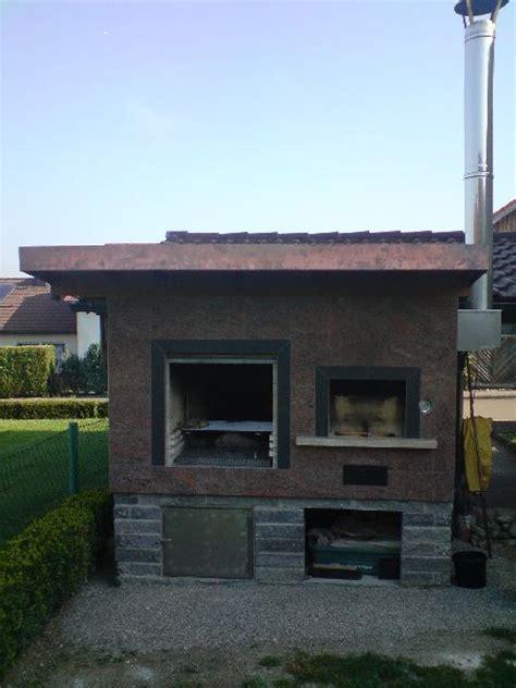 Feststehende Tiny Häuser by Gemauerter R 228 Ucherofen Selber Bauen Gt Gartenkche Mauern