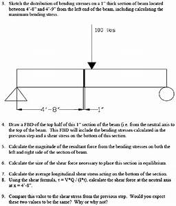 Example Questions From Bending Stress Tutorial The First