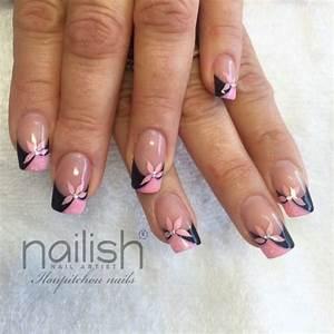 Déco French Manucure : blog de iloupitchou d co d 39 ongle en gel nail art ~ Farleysfitness.com Idées de Décoration