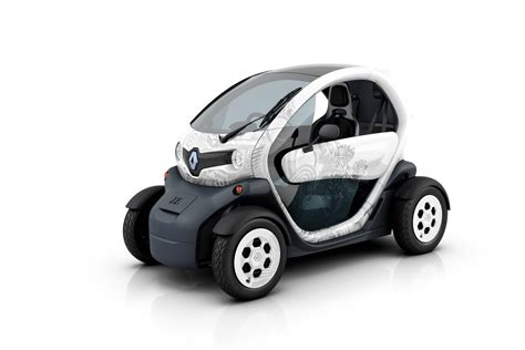 renault car paris show renault debuts production twizy the electric