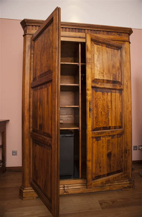 Wooden Wardrobe With Shelves by Free Stock Photo 8923 Wooden Wardrobe Or Armoire