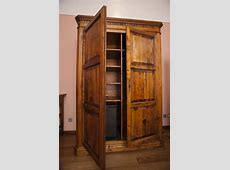 Free Stock Photo 8923 Old wooden wardrobe or armoire