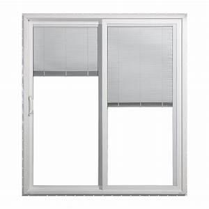 Reliabilt low e vinyl sliding patio door lowe39s canada for Lowes patio doors canada