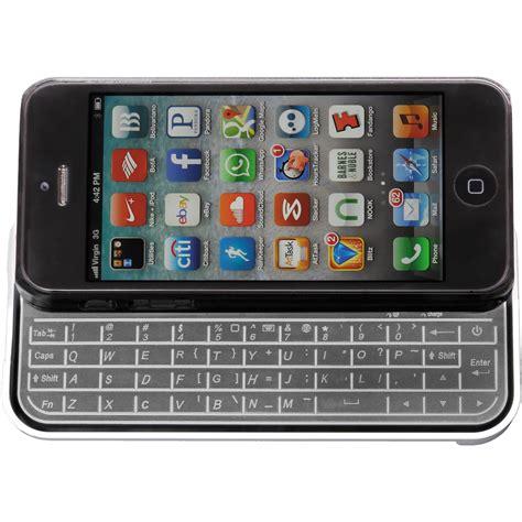 iphone 5 keyboard xuma iphone 5 keyboard ip kc01 b h photo