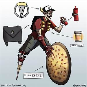 Pizza Junkrat Overwatch Know Your Meme