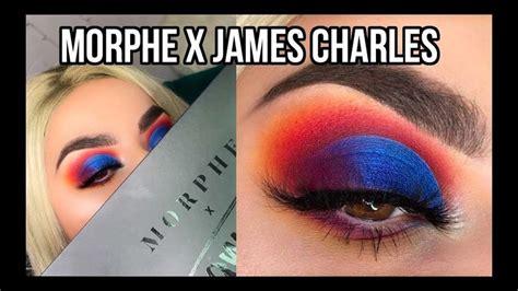morphe  james charles artistry palette tutorial youtube   palette tutorial james