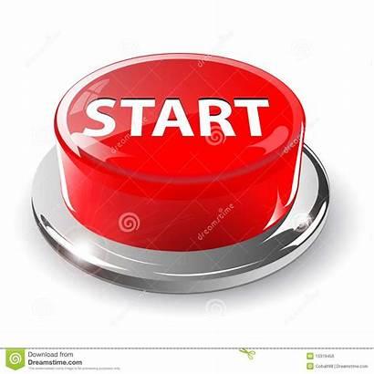 Start Button 3d Vector Stop Glossy Metallic