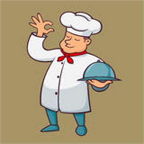 chef carry alligator grill cartoon stock illustration