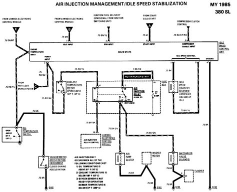 1985 Mercede Fuel System Diagram by 1985 380sl Fuel Injection Intermittently The Frequency
