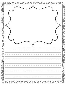 primary writing templates   occasion   teacher