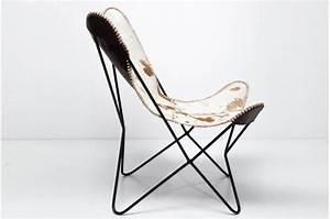 Fauteuil Peau De Vache : fauteuil transat peau de vache clarabelle fauteuil design pas cher ~ Teatrodelosmanantiales.com Idées de Décoration