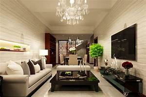 Interior design ideas lighting of living dining room for Interior design ideas for living dining room