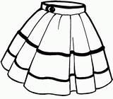 Skirt Clipart Short Clipartmag sketch template