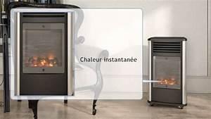 Chauffage Avec Bouteille De Gaz : chauffage d 39 appoint gaz 3kw effet chemin e manhattan ~ Dailycaller-alerts.com Idées de Décoration