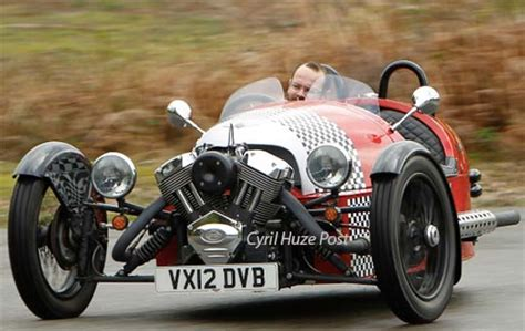 Morgan To Release New 3-wheeler Body Styles And New Range