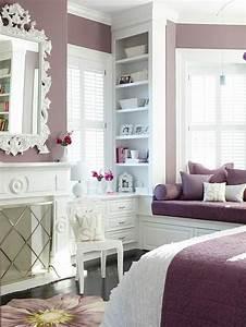 Luscious, Purple, Bedroom, Designs, For, Modern, Interiors