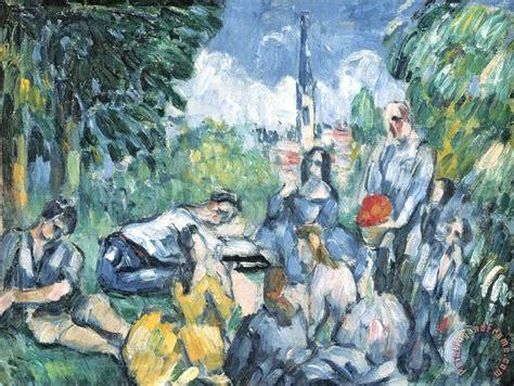 paul cezanne dejeuner sur l herbe 1876 77 painting dejeuner sur l herbe 1876 77 print for sale