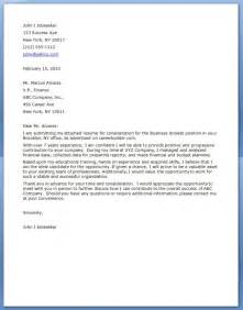 Business Analyst Cover Letter Samples - The Letter Sample