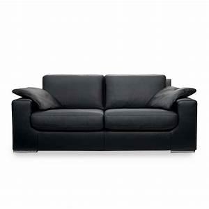 Canape Convertible Noir : canap convertible noir meubles et atmosph re ~ Teatrodelosmanantiales.com Idées de Décoration