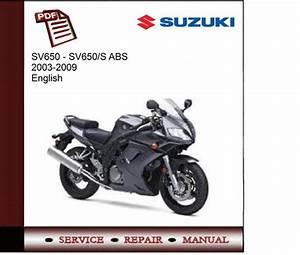Suzuki Sv650  S Abs 2003