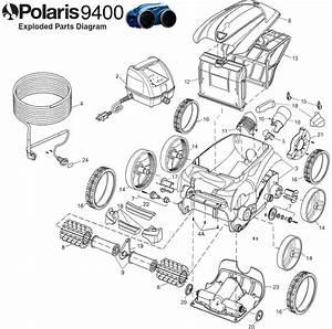 Polaris 9400 Awd Parts