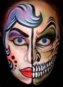 Cool Halloween Face Painting Ideas