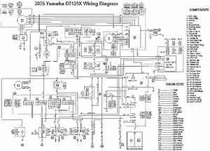 Yamaha Dt125x Wiring Diagram  58632