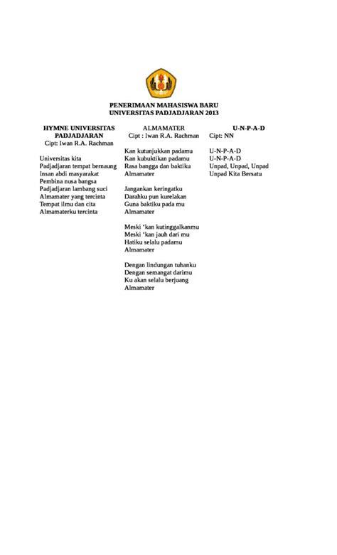 Penerimaan Mahasiswa Baru Unpad 2013 - Universitas Padjadjaran