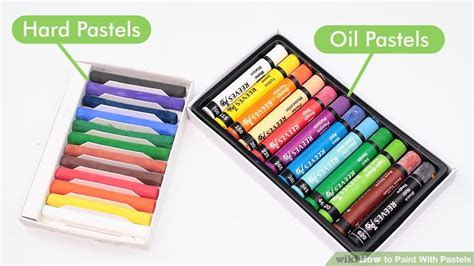 paint  pastels  steps  pictures wikihow
