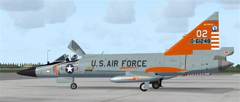 USAF Convair F-102 Delta Dagger 176th FIS for FSX