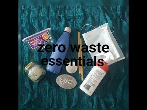 Zero Waste Essentialsbasics #2 Youtube