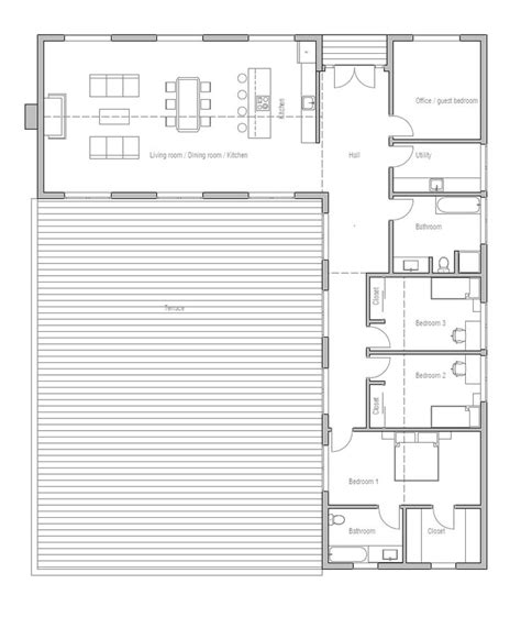 Inspiring Small L Shaped House Plans Photo by 25 Best Ideas About L Shaped House On