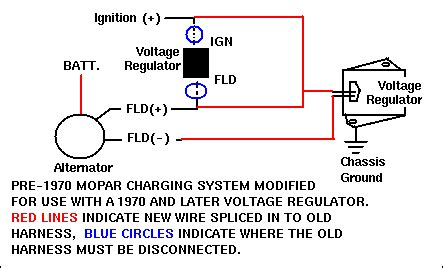 Electronic Voltage Regulator Conversion For Bodies