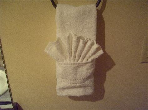 towel folding ideas for bathrooms iphone bike mount towel folding and fishing line cable