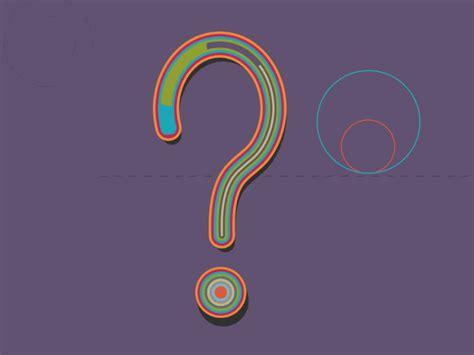 Question Mark Animation Gif By Al Boardman