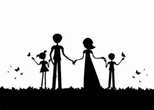 family silhouette - Google Search | Paintings | Pinterest ...