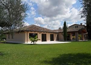 Casa a un piano Perugia Costantini Sistema Legno