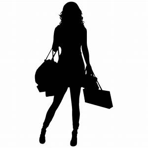Shopping Silhouette Png | www.imgkid.com - The Image Kid ...