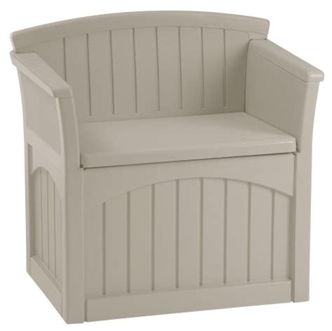 suncast pb2600 patio storage seat storage benches