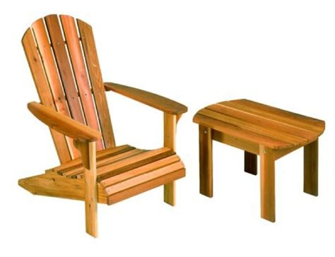 r14 1749 adirondack chair and table vintage woodworking