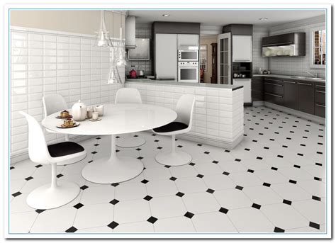 black and white kitchen floor tiles learn about white alaska granite home and cabinet reviews 9278