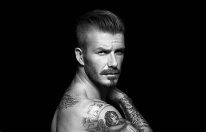 David Beckham Football Tattoo Mustache Legend Soccer