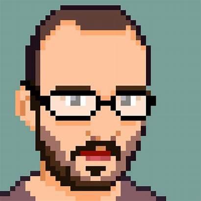 Pixel Portraits 8bit Animated Gifer Finish