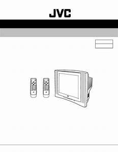 Jvc Av 21w33 Av 21w33b5 Color Tv Schematic Diagram Manual