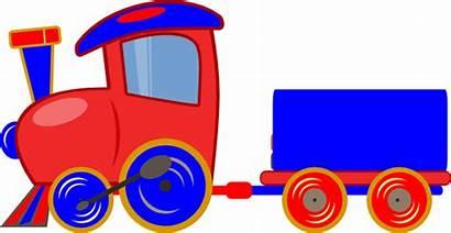 Train Clip Clipart Cartoon Loco Cliparts Toy