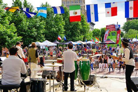 A festival concert organized by asheville downtown association. Goombay Festival, Asheville