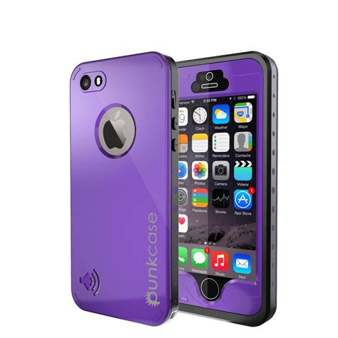 waterproof iphone 5s punkcase studstar purple apple iphone 5s 5 waterproof