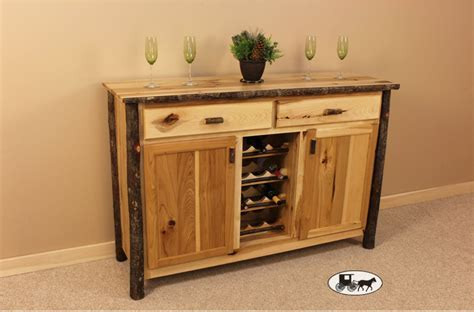 Amish Made & Adirondack Real Wood Cupboards, Cabinets