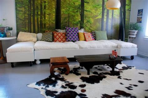 Cowhide Decor by Cowhide Rugs And A Few Ways Of Using Them In Your Interior